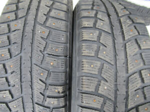 P225/65R17 STUDDED SEVERE SNOW RATED WINTER TIRES