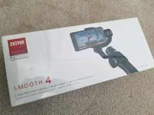 Brand New (SEALED) : ZHIYUN Smooth 4 3-axis Gimbal/Stabilizer