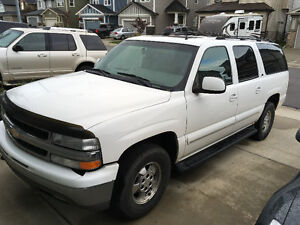 2002 Chevrolet Suburban LS 4x4 with Towing Package