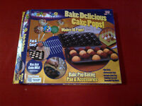 Pan & Accessories to make Cake Pops.