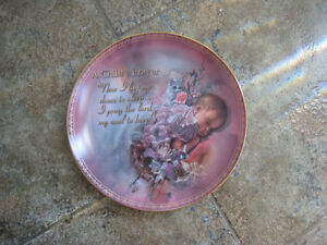 Collector's Plates – A Child's Prayer Series