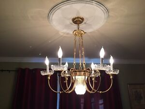 Two Chandeliers - One Kitchen Casual, One Dining Room Formal