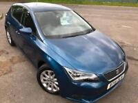 SEAT LEON 1.2 TSI SE TECHNOLOGY £43 WEEK £20 TAX SAT NAV BLUETOOTH 5DR HATCH 15