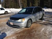 2002 Honda Civic- Want Gone ASAP! Reduced From $1700!!