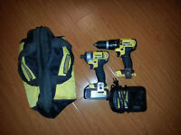 DEWALT 20v Max Lithium Ion  Compact Drill and hammerdrill