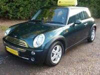 MINI 1.6 COOPER AUTOMATIC, CHILI PACK, AIR CON, 72,000 MILES ONLY