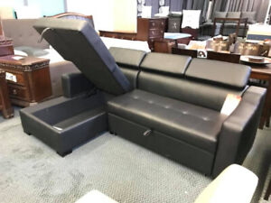 Huge sale on sectionals, with pull out bed, recliners, sofa sets