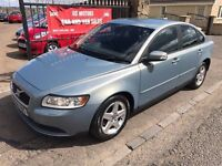 2008 (58) VOLVO S40 S DIESEL, 1 YEAR MOT, SERVICE HISTORY, WARRANTY NOT GOLF FOCUS ASTRA MEGANE A3