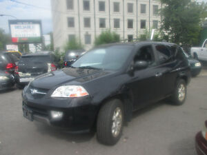 2001 Acura MDX LEATHER SUV SUNROOF , A/C, RIMS , 206.000 KM
