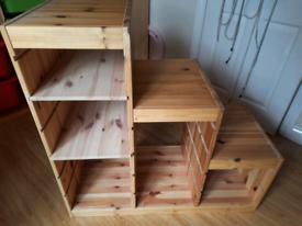 Ikea Trofast unit with 2 shelves