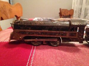 Vintage train set all metal