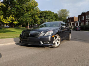2010 Mercedes-Benz E-Class E 350 4MATIC Sedan