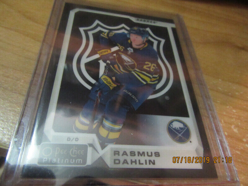 Autographed Patch Rookie Hockey Cards Arts Collectibles
