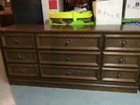 Dresser and night stand