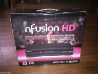 Nfusion HD Receiver IKS FTA Satellite Dish