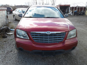 PARTS AVAILABLE FOR A 2005 CHRYSLER PACIFICA