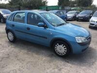 Vauxhall/Opel Corsa 1.2i 16v 2002MY Comfort Manual Petrol- LADY OWNER