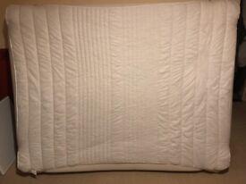 Memory foam king size mattress