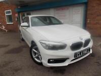BMW 118 1.5 (136bhp) (s/s) Sports Hatch i SE Petrol Manual White 2015 (65)