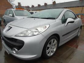 2008 Peugeot 207 CC 1.6HDI 110 FAP Coupe Sport convertible full service low mile