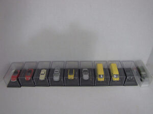 HO Scale cars and vans