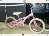 "16"" Schwinn Lil Star Dust bike"