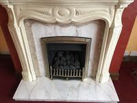 Free Marble fireplace and surround