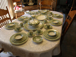 Simpsons Potters of England Full Dinner Setting for 8 With compl