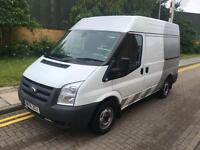 2011 Ford TRANSIT 115 T300S FWD SWB MED ROOF PANEL Manual PANEL VAN