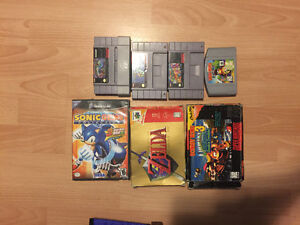 Assorted N64, Snes and GameCube Games