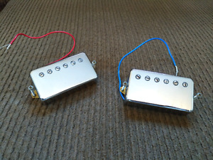 Set of humbucker pickups from an Epiphone Les Paul