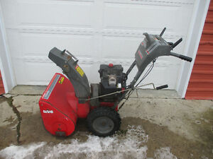 "26"" 2 stage snowblower"