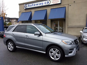 2014 Mercedes-Benz M-Class ML350 BlueTEC SUV, Crossover