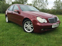 2001 Mercedes-Benz C 270 AUTOMATIC VERY CLEAN FOR THE YEAR NEW MOT