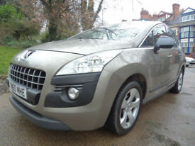 Peugeot 3008 SUV MINT CONDITION BODY WORK MPV PROPER FAMILY CAR