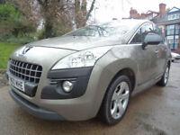 Peugeot 3008 SUV MINT CONDITION BODY WORK MPV PROPER FAMILY CAR