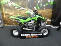 Kawasaki KFX 400 Quad Bike Road registered