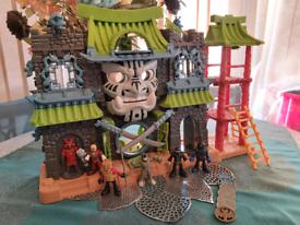 Imaginext Samurai Warrior Castle With Figures