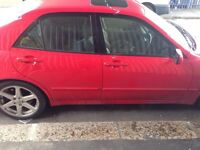 Lexus is200 any red door complete 98/05 breaking spares is 200 is300