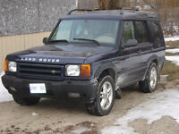 2002 Land Rover Discovery  WITH SAFETY