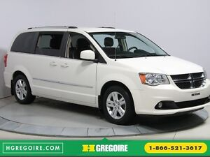 2012 Dodge GR Caravan Crew Plus STOW'N GO CUIR NAVIGATION CAMERA