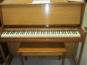 Three pianos for sale $1500 each incl warranty, del & tuning