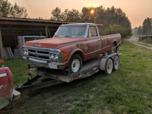 1969 and 1971 GMC 3/4 ton trucks