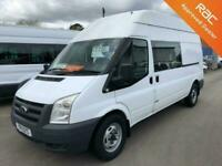 Ford Transit 2011 2.4TDCI T350 LWB 6 Seat CREW/MESSING/WELFARE VAN