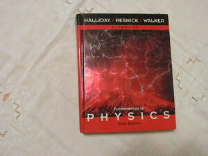 Fundamentals of Physics (Extended), 6th edition