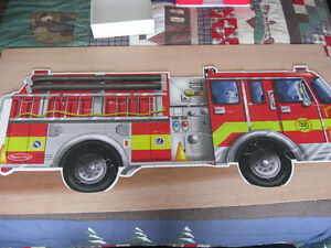Fire Truck Floor Puzzle London Ontario image 1
