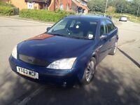 Ford Mondeo, 2.0 TDI Diesel, 2003, 7 Months Mot, Reliable Car...