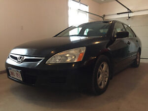 2007 HONDA ACCORD LOADED AUTOMATIC ONLY 159200KM