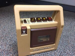 Fisher Price cassette recorder/player