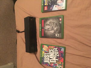 Selling Xbox One Kinect and 3 Games London Ontario image 1